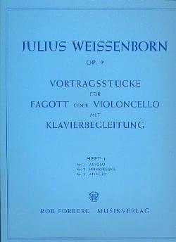 Vortragsstücke op. 9 - Heft 1 Julius Weissenborn laflutedepan