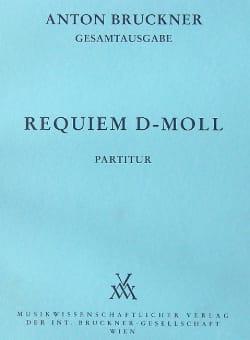 Requiem d-moll BRUCKNER Partition Grand format - laflutedepan