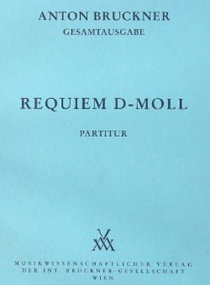 Requiem d-moll - BRUCKNER - Partition - laflutedepan.com