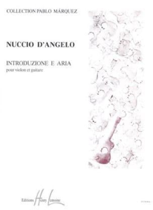 Introduzione e Aria - d'Angelo Nuccio - Partition - laflutedepan.com