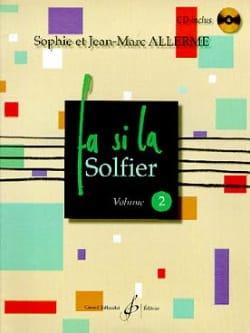 Fa Si la Solfier Volume 2 Jean-Marc Allerme Partition laflutedepan