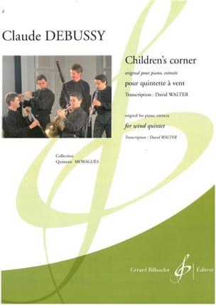Children's Corner extraits - Quintette à vent DEBUSSY laflutedepan