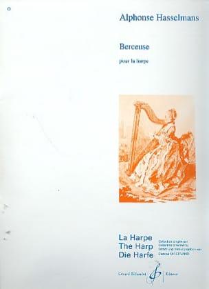 Berceuse Alphonse Hasselmans Partition Harpe - laflutedepan