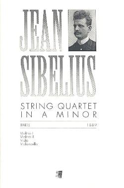 String Quartet in A minor -Parts SIBELIUS Partition laflutedepan
