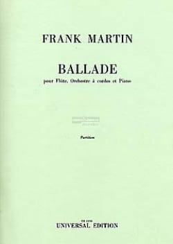 Ballade pour flûte, orch. cordes, piano - Partition - laflutedepan.com