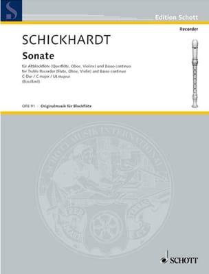 Sonate C-Dur - Altblockflöte u. Bc laflutedepan