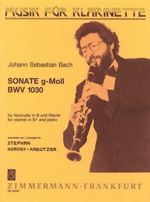Sonate g-moll BWV 1030 - Klarinette Klavier laflutedepan
