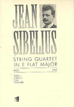 String Quartet in E flat -Parts SIBELIUS Partition laflutedepan