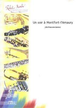 Un soir à Montfort-l'Amaury Francine Aubin Partition laflutedepan