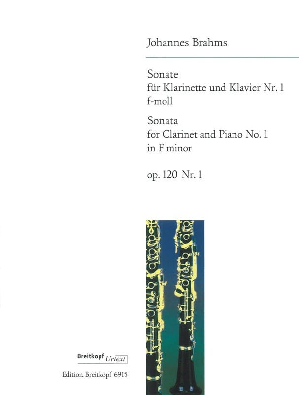 Sonate Nr. 1 f-moll op. 120/1 - Klarinette Klavier - laflutedepan.com