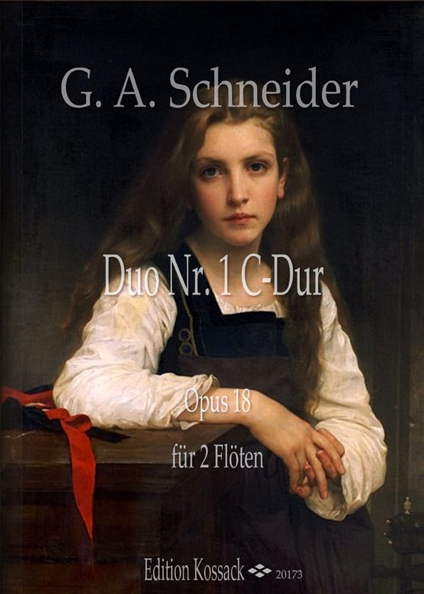 Duo n° 1, op. 18 - Georg Abraham Schneider - laflutedepan.com