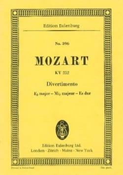 Divertimento Nr. 12 Es-Dur - MOZART - Partition - laflutedepan.com