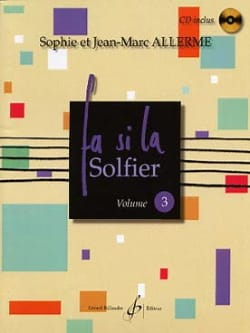 Fa Si la Solfier Volume 3 Jean-Marc Allerme Partition laflutedepan