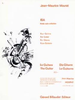 Isa Jean-Maurice Mourat Partition Guitare - laflutedepan