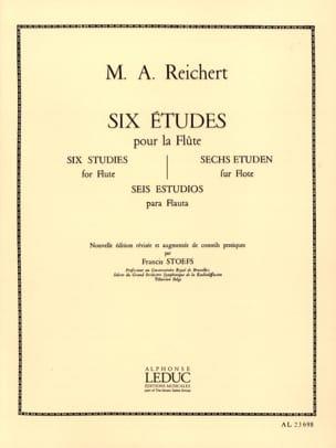 6 Etudes op. 6 - Flûte Mathieu André Reichert Partition laflutedepan