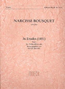 36 Etudes 1851 -Volume 1 Narcisse Bousquet Partition laflutedepan