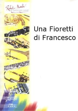 Una fioretti di Francesco Francine Aubin Partition laflutedepan
