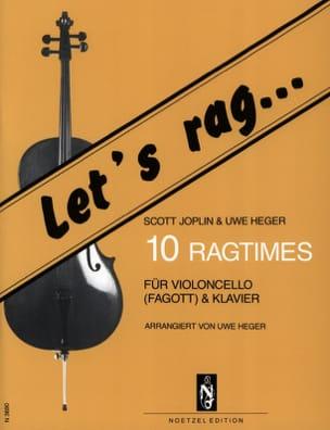 Let's Rag - 10 Ragtimes - Cello - laflutedepan.com