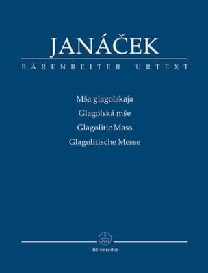 Glagolitic Mass JANACEK Partition Petit format - laflutedepan