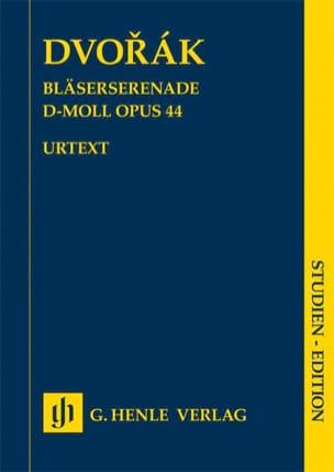 Sérénade à vent en ré mineur op. 44 Antonin Dvorak laflutedepan