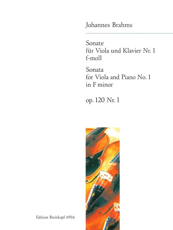 Sonate n° 1 f-moll, op. 120 n° 1 - BRAHMS - laflutedepan.com