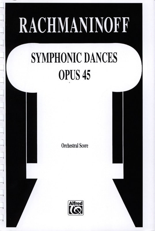 Symphonic dances - Score - RACHMANINOV - Partition - laflutedepan.com