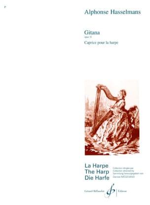 Gitana op. 21 Alphonse Hasselmans Partition Harpe - laflutedepan