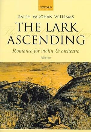 The Lark ascending - Score WILLIAMS VAUGHAN Partition laflutedepan