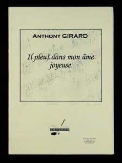 Il pleut dans mon âme joyeuse Anthony Girard Partition laflutedepan