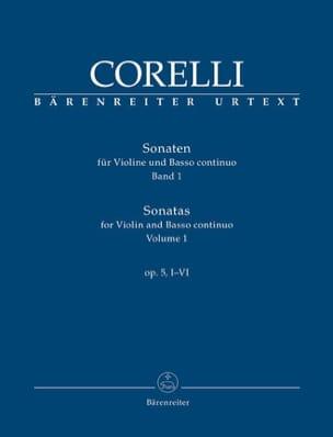 CORELLI - Sonatas for violin and continuo op. 5, I-VI - Partition - di-arezzo.co.uk