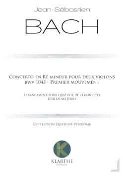 BACH - Konzert in d-Moll, BWV 1043 - 4 Klarinetten - Partition - di-arezzo.de
