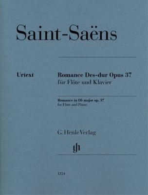 Romance, opus 37 SAINT-SAËNS Partition laflutedepan