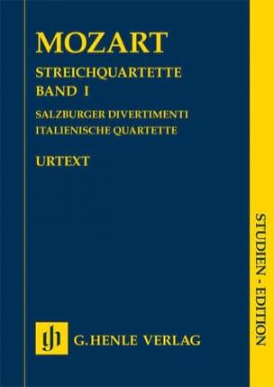 Quatuors à cordes, Volume I (Divertimenti de Salzbourg, Quatuors italiens) laflutedepan