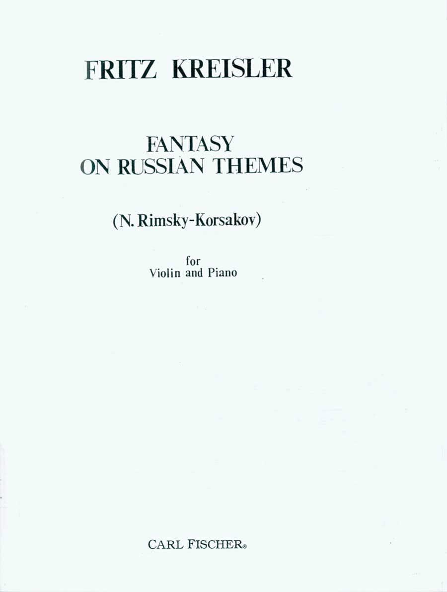 Fantasy on russian themes - laflutedepan.com