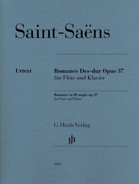 Romance, opus 37 - SAINT-SAËNS - Partition - laflutedepan.com