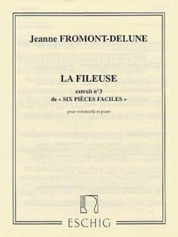 6 Pièces faciles - n° 3 : La fileuse J. Fromont-Delune laflutedepan