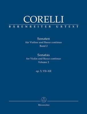 Sonates pour violon et basse continue op. 5, VII-XII laflutedepan