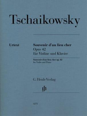 Piotr Illitch Tchaikovsky - Souvenir of an expensive place, op. 42 - Partition - di-arezzo.com