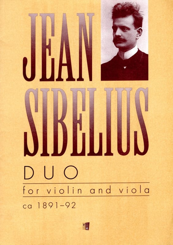 Duo - Violin and viola - SIBELIUS - Partition - 0 - laflutedepan.com