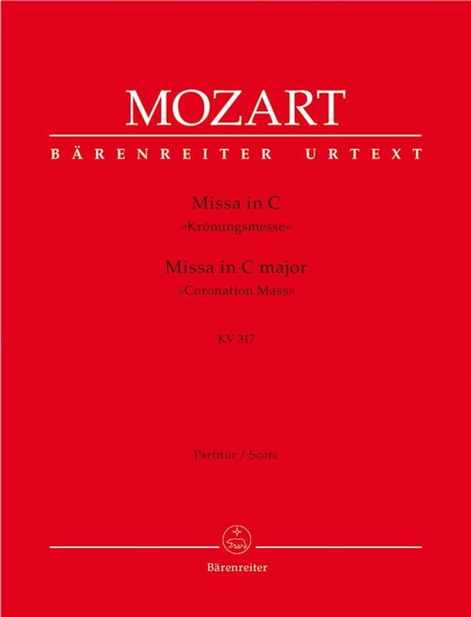 Missa C-Dur KV 317 Krönungsmesse - Partitur - laflutedepan.com
