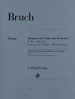 Romanze F-dur op. 85 - Fassung Violine - BRUCH - laflutedepan.com