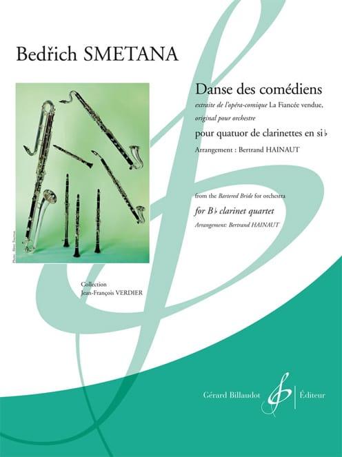 Danse des Comédiens - SMETANA - Partition - laflutedepan.com