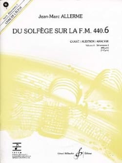 du Solfège sur la FM 440.6 - Chant Audition Analyse avec CD - laflutedepan.com