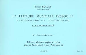Lecture musicale dissociée - A1 - Déb. prép. laflutedepan
