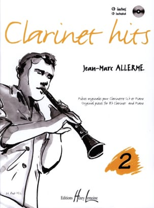 Clarinet Hits Volume 2 Jean-Marc Allerme Partition laflutedepan
