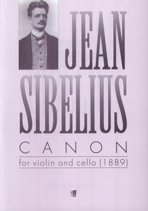 Jean Sibelius - Canon 1889 - Partition - di-arezzo.fr