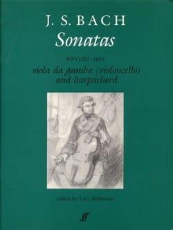 Gamba Sonatas BACH Partition Viole de gambe - laflutedepan
