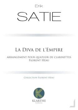 La Diva de l'Empire - 4 Clarinettes SATIE Partition laflutedepan