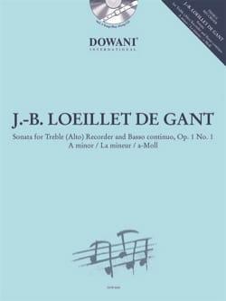 de Gant Jean Baptiste Loeillet - Sonata, opus 1 n ° 1 - Partition - di-arezzo.co.uk