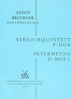 Streichquintett F-Dur - Intermezzo d-moll - Partitur - laflutedepan.com